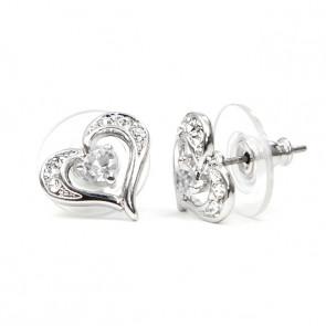 Swarovski kristályos fülbevaló
