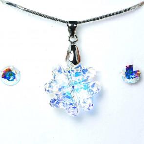 Swarovski kristályos ékszerszett - Lóhere Crystal AB