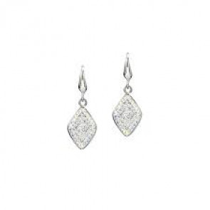 Swarovski® kristályos nemesacél fülbevaló - Allure crystal + ab