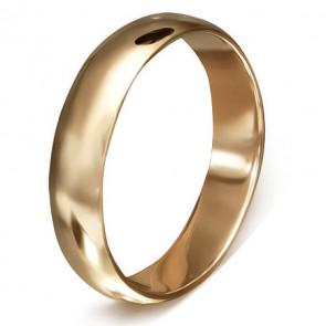 Arany színű karika nemesacél gyűrű ékszer