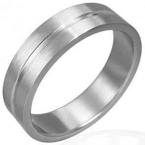 Mart ezüst színű nemesacél gyűrű ékszer