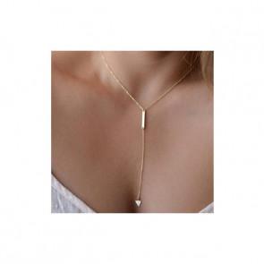 Trioo - Egyszerű bizsu nyaklánc