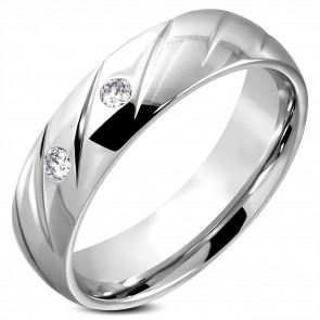 nemesacél gyűrű