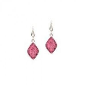 Swarovski® kristályos nemesacél fülbevaló - Allure Rose