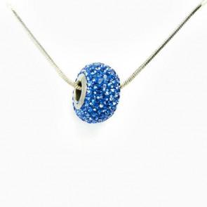 Swarovski® kristályos nemesacél nyaklánc