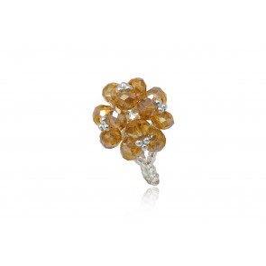 Gyöngyökből fűzött gyűrű