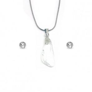 Swarovski kristályos szett - Szárny 23 mm, Crystal