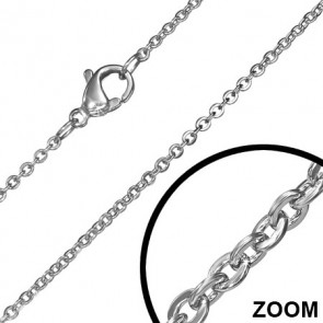 1.5 mm-es nemesacél nyaklánc ékszer