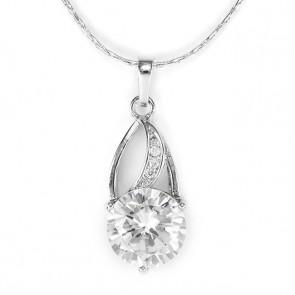 Swarovski kristályos nyaklánc dizájnos medállal