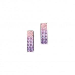 Swarovski ® kristályos nemesacél fülbevaló - twilight earrings