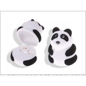 Panda maci alakú ékszer tartó doboz